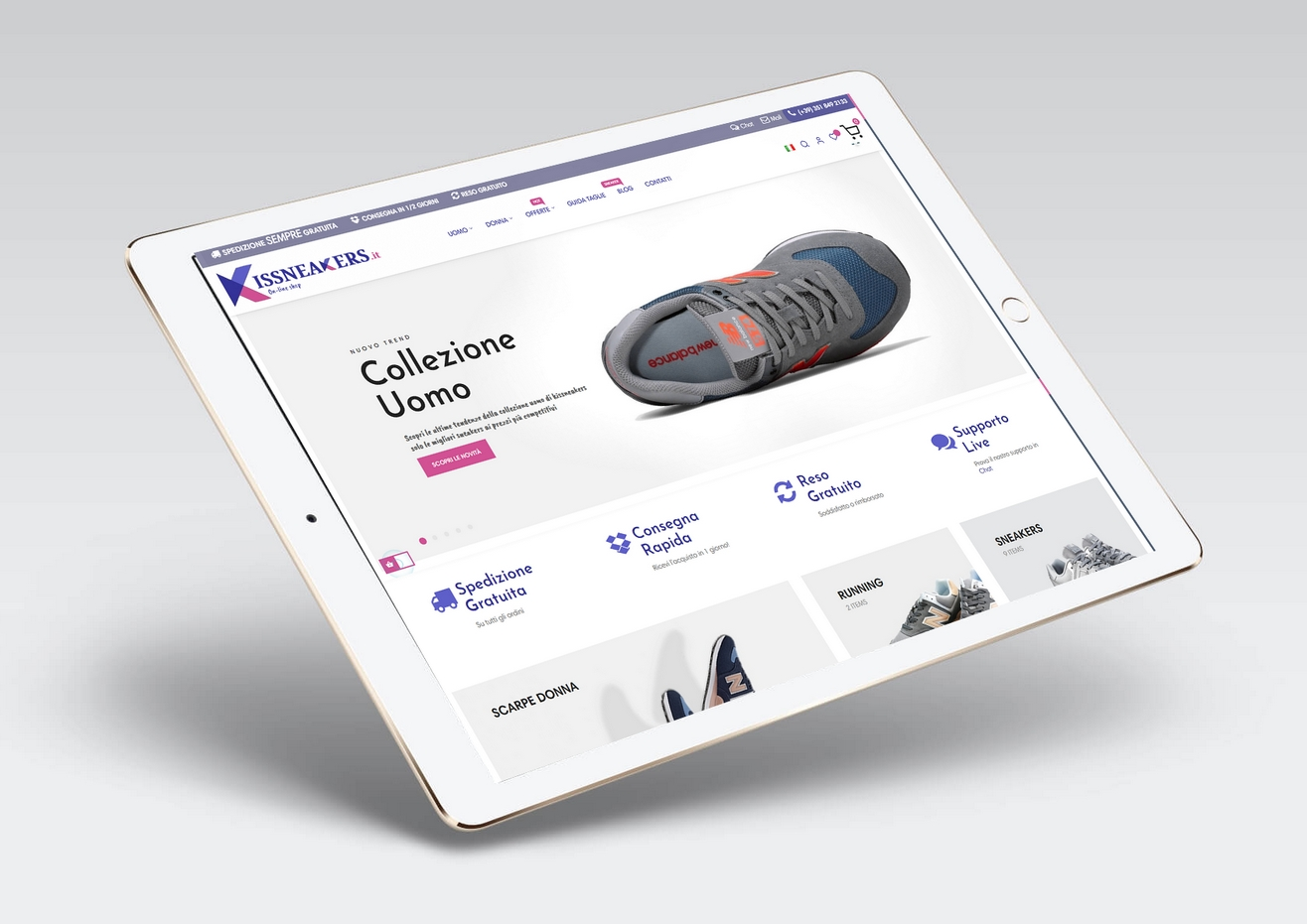 eCommerce Sneakers