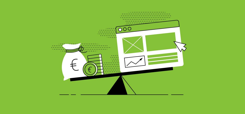Come stimare il valore di un sito web